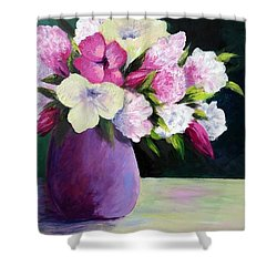 Floral Delight Shower Curtain