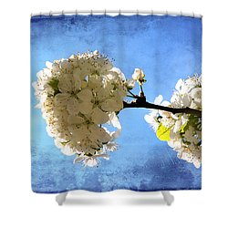 Flowering Shower Curtain