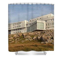 Fogo Island Inn Shower Curtain