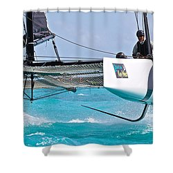 Letting It All Go Shower Curtain