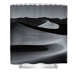 Follow The Curves Shower Curtain by Mike Dawson