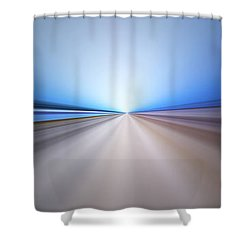 Follow The Light Shower Curtain