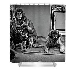 For The Love Of Dog Shower Curtain