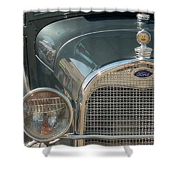 Ford Grill Shower Curtain