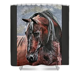 Forever Shower Curtain by Melita Safran