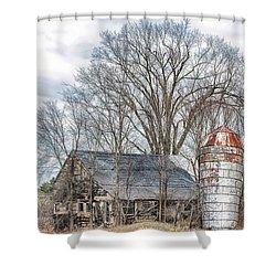 Forsaken Shower Curtain by Richard Bean