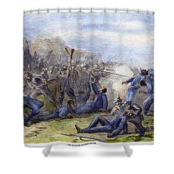 Fort Pillow Massacre, 1864 Shower Curtain by Granger