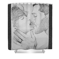 Make Me Lose My Breath Shower Curtain