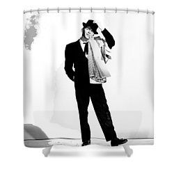 Frank Sinatra Pal Joey Set 1 1957-2015 Shower Curtain by David Lee Guss