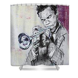 Freddie Hubbard Shower Curtain