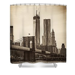 Freedom Tower Rising Shower Curtain