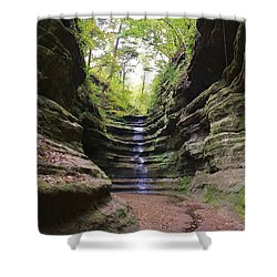 French Canyon Shower Curtain