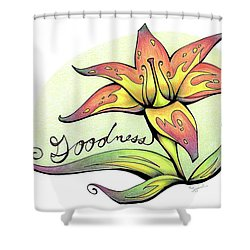 Fruit Of The Spirit Series 2 Goodness Shower Curtain