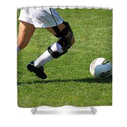 Futbol Shower Curtain