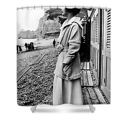 Gabrielle Coco Chanel Shower Curtain by Granger