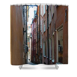 Gamla Stan Shower Curtain