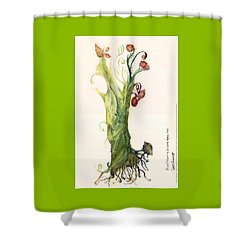 Gate Goddess Of Forest Nautica Shower Curtain