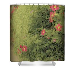 Gems In The Grass Shower Curtain