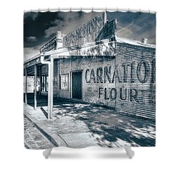 Shower Curtain featuring the photograph General Store by Wayne Sherriff