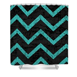 Geometric 4 Shower Curtain