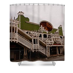 Ghostcasino Shower Curtain
