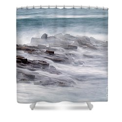 Giants Causeway  Shower Curtain