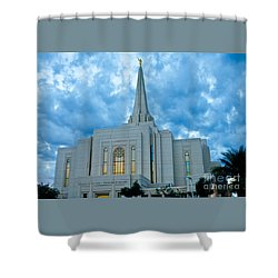 Gilbert Arizona Lds Temple Shower Curtain