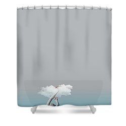 Girl In Soul Shower Curtain