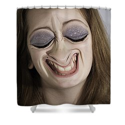Glamour Girl Shower Curtain by Clayton Bruster