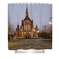 Glasgow Cathedral Shower Curtain by Grant Glendinning
