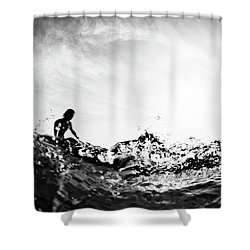 Glass House Shower Curtain