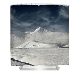 Glencoe Winter Landscape Shower Curtain