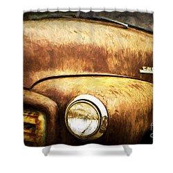 GMC Shower Curtain by Scott Pellegrin