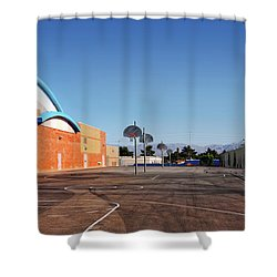 Goals In Perspectives Shower Curtain
