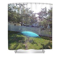 Gods Backyard Shower Curtain