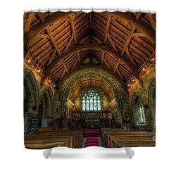Gods Light Shower Curtain by Ian Mitchell