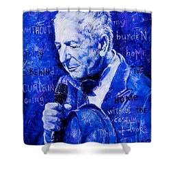Shower Curtain featuring the painting Going Home by Igor Postash