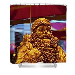 Golden Idol Shower Curtain