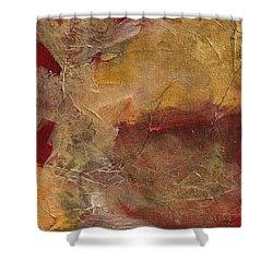 Golden Ruby Shower Curtain