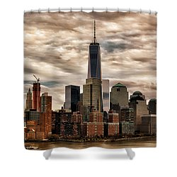 Gotham City Shower Curtain