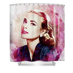 Grace Kelly, Vintage Actress Shower Curtain