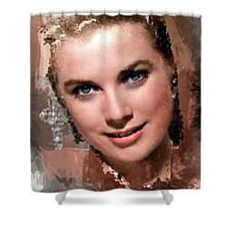 Grace Kelly, Vintage Hollywood Actress Shower Curtain