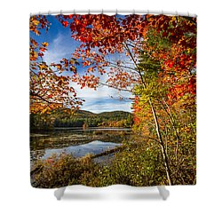 Shower Curtain featuring the photograph Grafton, New Hampshire by Robert Clifford