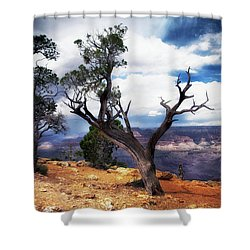 Shower Curtain featuring the photograph Grand Canyon by James Bethanis