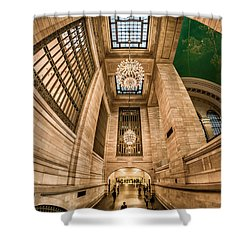 Grand Central Terminal Underpass Shower Curtain