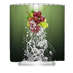 Grape Splash Shower Curtain