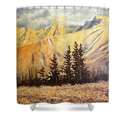 Great Basin National Park Nevada Shower Curtain by Kevin Heaney