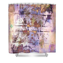 Grungy Abstract  Shower Curtain