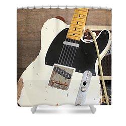 Guitar Shower Curtain