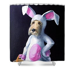 Gunther's Easter Parade Shower Curtain